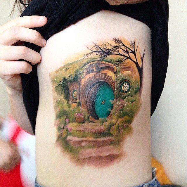 Hobbit-Lord-Rings-Trilogy-JRR-Tolkien