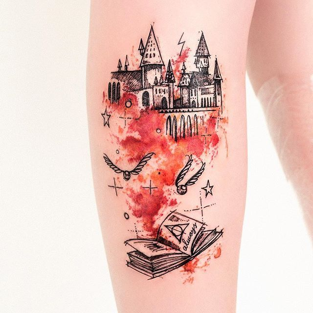 book tattoo 2